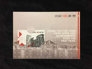 HSBC 150 years limited edition Octopus Card 滙豐150週年限量版八達通