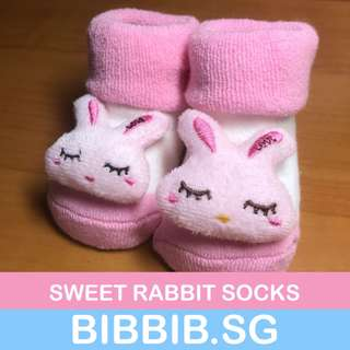 Baby Socks - Sweet Rabbit Collection 1204