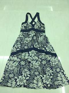 Flora maternity dress