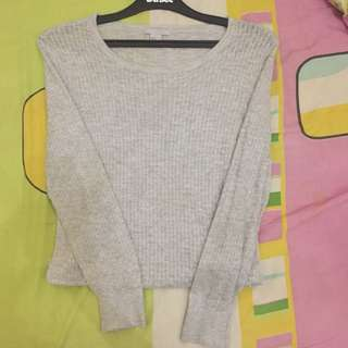 Sweater grey h&m
