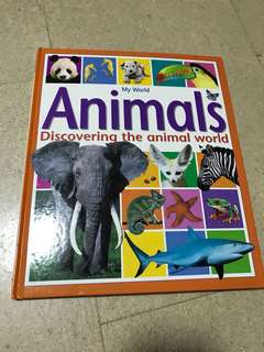 Sales !! My world Animals - Discovering the animal world