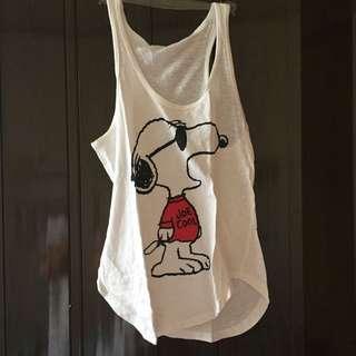 Preloved forever21 Snoopy sando
