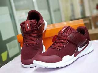 Nike Arrow Maroon White