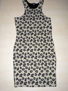 Leopard Dress (Sleeveless)