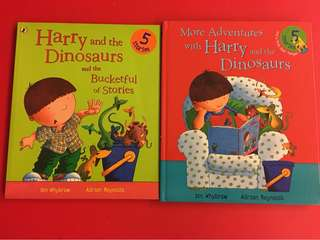 Harry and the dinosaurs 2 books