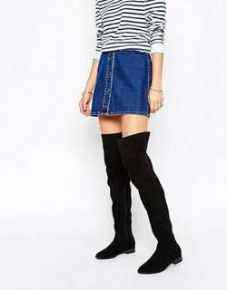 Over the knee thigh high ASOS boots