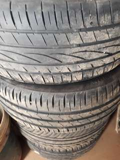"""PRICE LOWERED!!! SSR 15"""" rims 4x100 with 70% tyres"""