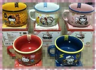 三麗鷗 KT 馬克杯+瓷器杯墊