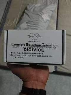 Digimon complete selection animation digivice digital monsters