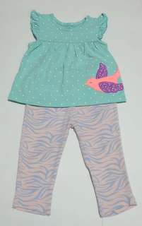3pc baby girl set 18 months