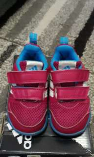 Adidas Kids Shoes Pink Color