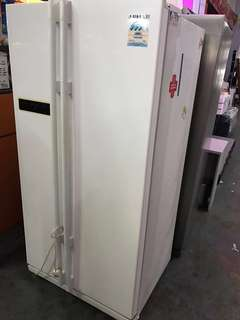 Used Samsung Side by side fridge