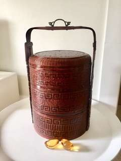 Ancient wedding basket