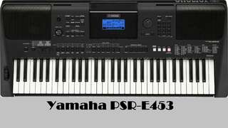 Kredit Keyboard Yamaha PsR E453 Bunga 0%