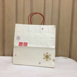PAPERBAG AUTHENTIC PAPERBAG BRANDED PAPERBAG UNIQLO