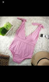 Pink onepiece swimsuit