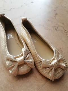 Glittery Gold Shoes