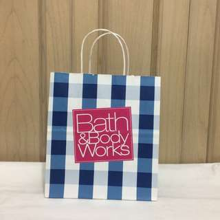 PAPERBAG AUTHENTIC PAPERBAG BRANDED PAPERBAG BBW PAPERBAG BATH AND BODY WORKS