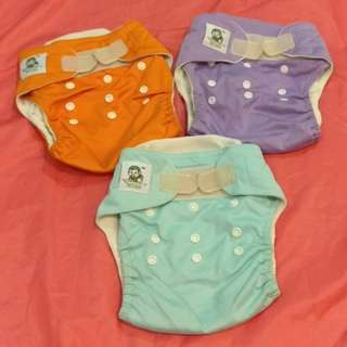 (3 Pcs) Cloth Diapers & Potty Training Pants