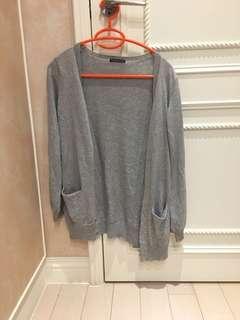 🚚 日貨-針織縫亮片外套