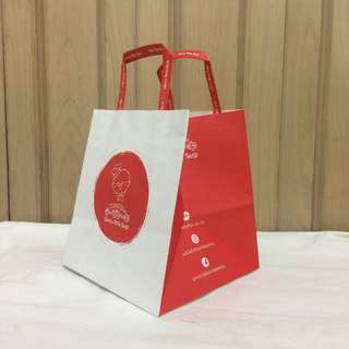 PAPERBAG AUTHENTIC PAPERBAG BRANDED PAPERBAG UNCLE TETSU