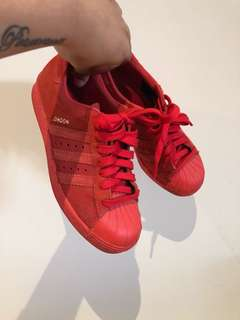 Adidas superstar 80's city series London Red *** deadstock