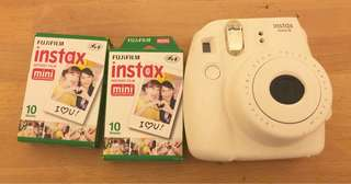 Instax mini 8 Polaroid camera white