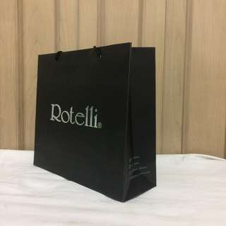 PAPERBAG AUTHENTIC PAPERBAG BRANDED PAPERBAG ROTELLI