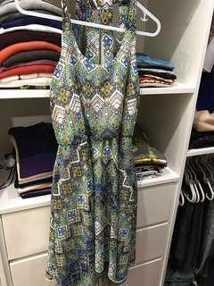 ENFOCUS STUDIO printed dress (chiffon)