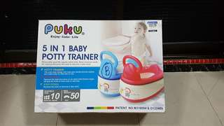 Puku 5 in 1 baby potty trainer