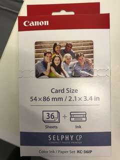 Canon KC-36IP Card Size Photo Paper