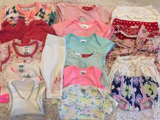 Baby girl bundle size 000 (0-3 months)