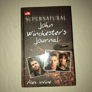 Novel SUPERNATURAL: John Winchester's Journal Hardcover