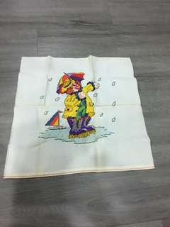 Cross stitch (Clown)