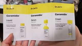 dijual sampel dr jart+ ceramidin liquid 3 pcs for 50.000 only