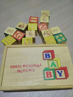 Educational Wooden Bloks