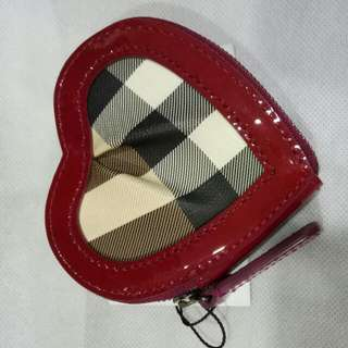 Burberry Heart Shaped Coin Purse