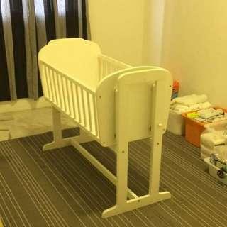 Cradle baby cot