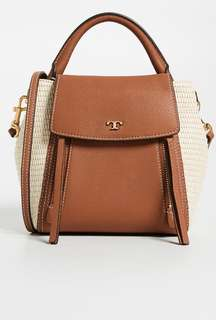 Tory Burch half moon crossbody Bag