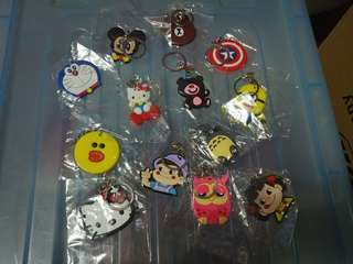 Buy 2 Get 1 Free - Cartoon Keychain