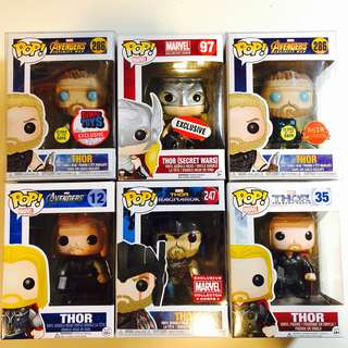 Exclusives : Thor Funko pop