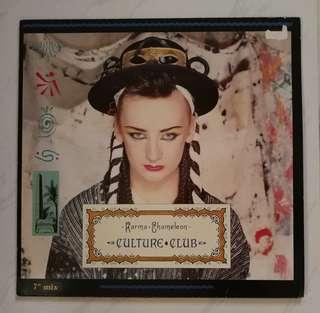 Culture club Madonna Thomson twins original LP recors