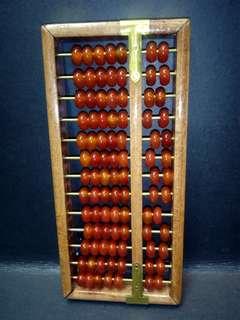 红玉髓算盘19x9cm