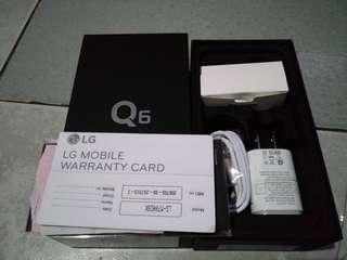 LG Q6 Black Slightly Used (2 weeks)