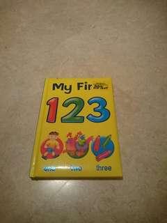 My first 123 book