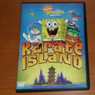 Nickelodeon SpongeBob Squarepants Karate Island (ORIGINAL) DVD