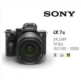 New Release! A7iii. Ready Stock. Full Local Sony Singapore Warranty. Delivery Included.