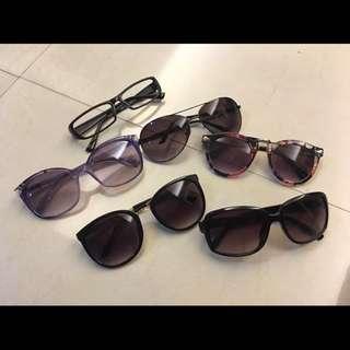🚚 太陽眼鏡 墨鏡 眼鏡鏡框