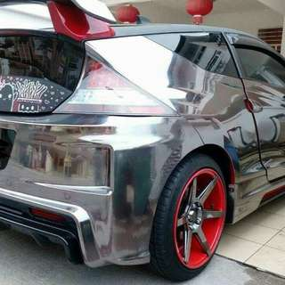 Master  Chrome Powder for Chrome Car, Motorcycle, Bicycle Any Painted Surface + Free Gift