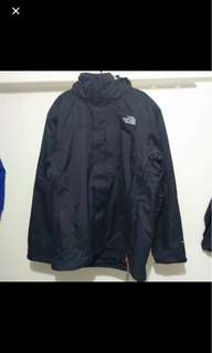 The north face 3in1 外套
